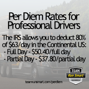 Per Diem Pay For Truck Drivers -
