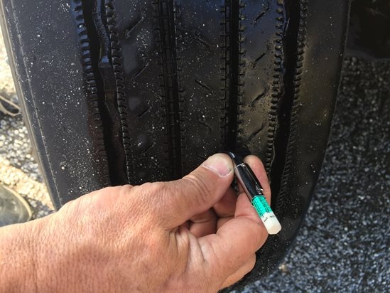 How To Measure Tire Tread >> Team Run Smart Measuring Tire Tread Depth