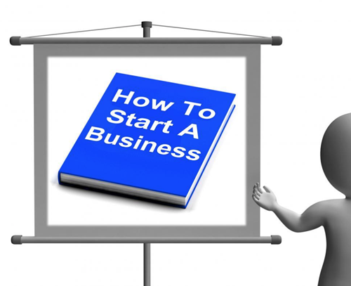 How-To-Start-A-Business-Book-Sign-Showing-Begin-Company-Partnership-from-Freerange.png