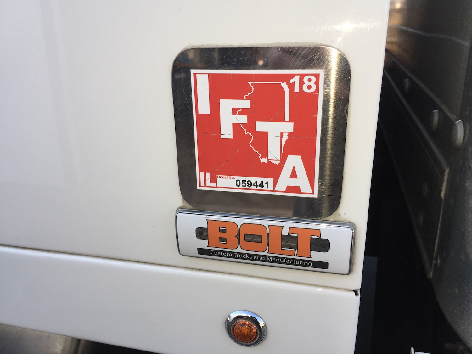Replacing Your IFTA Decals